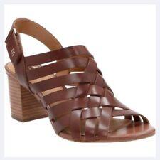 6e25e1c9b66a5e Buy Clarks Ralene Dazzle Womens Heeled Sandals Tan Leather 8.5 ...