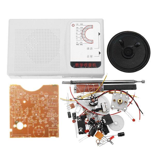 Do it yourself 7 Röhren bin bin Wave Radio Kit Studenten Löten Practice Set electronic Prod