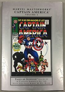 Marvel-MMW-Captain-America-Vol-2-HC-COLLECTION-New-Canada-Seller-stan-lee