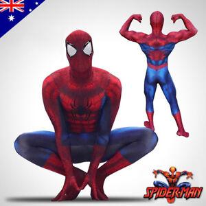 3D Printing Marvel Amazing Spiderman Costume Halloween Adult Cosplay Zentai Suit