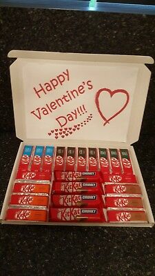 Kitkat Valentines Day Chocolate Selection Box Gift Hamper Boyfriend Girlfriend Ebay