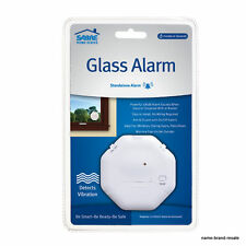 SABRE Wireless Window Glass Break & Vibration Detector Alarm with Security NEW