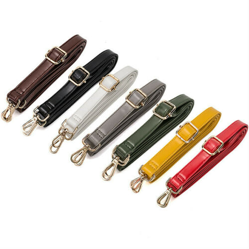 DIY Replacement Leather Bag Purse Shoulder Strap Handle Cross Adjustable 135cm