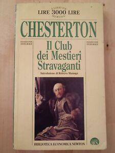 Il Club dei Mestieri Stravaganti Chesterton Biblioteca economica Newton ed. 1996