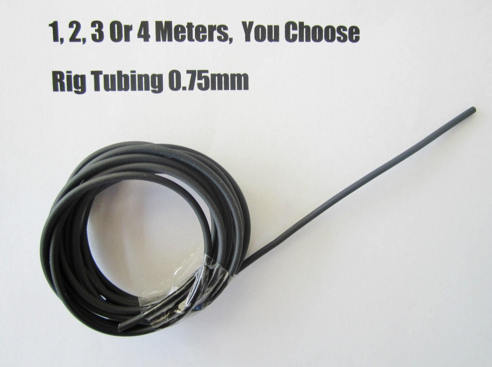 Pêche rig tube tube 0,75 mm assortiment assortiment assortiment de longueurs anti enchevêtrement plates-formes Jigs Crochets 969387