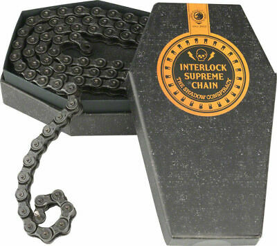 "1//8/"" The Shadow Conspiracy BMX Supreme Half Link Bike Chain Chrome"