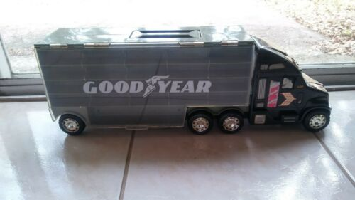 Goodyear Display Truck Stores Toy Cars i.e Hotwheels