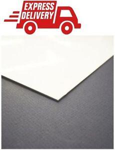 Hygienic Wall Cladding 8ftx4ft 8x4 pvc sheet upvc sheet White gloss 2mm rigid