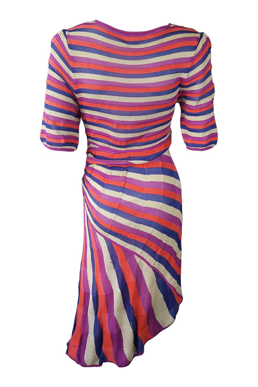 KAREN MILLEN  Multi Multi Multi colore Asimmetrico Abito E Cardigan Set (4) af68f8