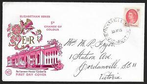 AFD472-Australia-1965-Elizabethan-Series-5d-Change-of-Colour