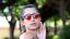 thumbnail 18 - Flip Up Circle Steampunk Glasses Goggles Sunglasses Emo Retro Vintage Cyber Punk