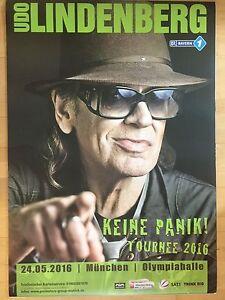Udo Lindenberg 1 2016 Munchen Orig Concert Poster Konzert