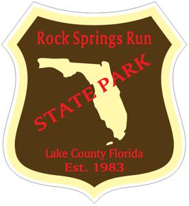 Rock Springs Run Florida State Park Sticker R6783 YOU CHOOSE SIZE