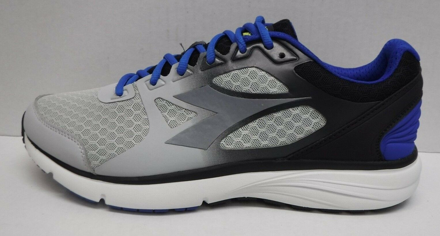 Diadora Size 11.5 Gray Running Sneakers New Mens Shoes