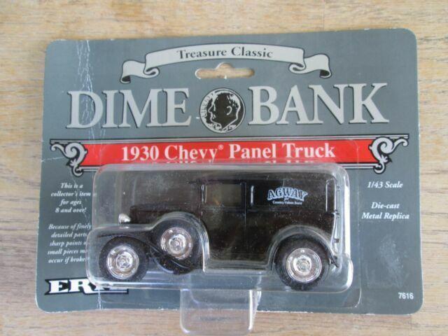 Agway Dime Bank 1930 Chevy Panel Truck 1:43 #2 1992 Ertl