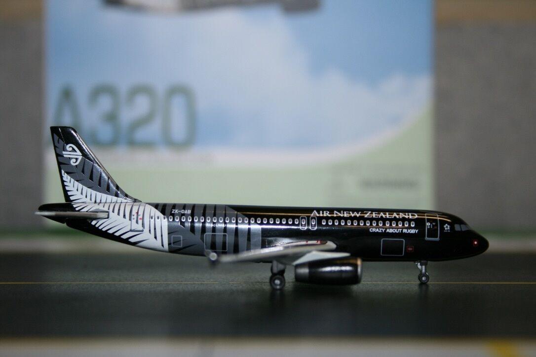 descuento de ventas en línea Alas de de de dragón 1 400 Air New Zealand Airbus A320-200 Zk-OAB 'All negros's (56328)  más orden
