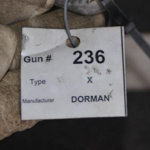 Weld Dorman Type X Heavy duty spot welding gun with water cooled jaws electrodes