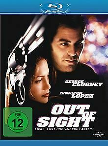 Out-of-Sight-Blu-ray-von-Steven-Soderbergh-DVD-Zustand-sehr-gut