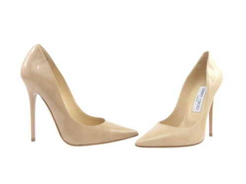 Anouk 27 Leather di Rrp Choo sconto Patent Nude Jimmy HA1qwH