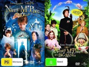Nanny-McPhee-1-2-amp-And-The-Big-Bang-Returns-DVD-2-MOVIES-BRAND-NEW-R4