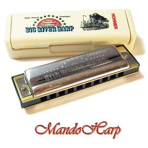 Hohner-Harmonica-590-20-Big-River-Harp-MS-SELECT-KEY-NEW