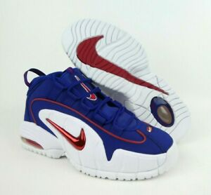 Details about Nike Air Max Penny Lil Penny Mens Size 6 Deep Royal Blue White Red 685153 400