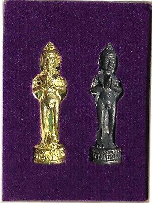 I//AI KAI PHRA LP RARE OLD THAI BUDDHA AMULET PENDANT MAGIC ANCIENT IDOL#69