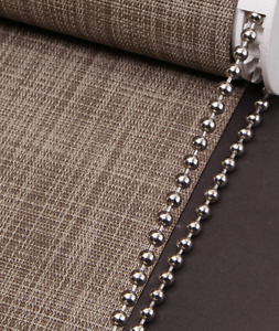 ROLLER-ROMAN-BLIND-METAL-NICKEL-BEADED-CHAIN-4-5MM-BALL-SOLD-BY-THE-METRE