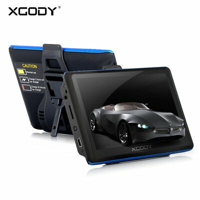 "XGODY 5/"" Car Truck GPS Navigation System Free Lifetime Map 8GB Navigator Sat Nav"