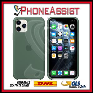Schutzhülle Cover Für IPHONE 11 Pro Max Silikon Original Grün Pinewood