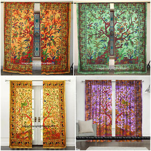 Image Is Loading Indian Mandal Tree Of Life Window Tapestry Ethnic