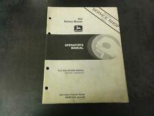 John Deere 160 Rotary Mower Operators Manual Om M72244 Issue K6
