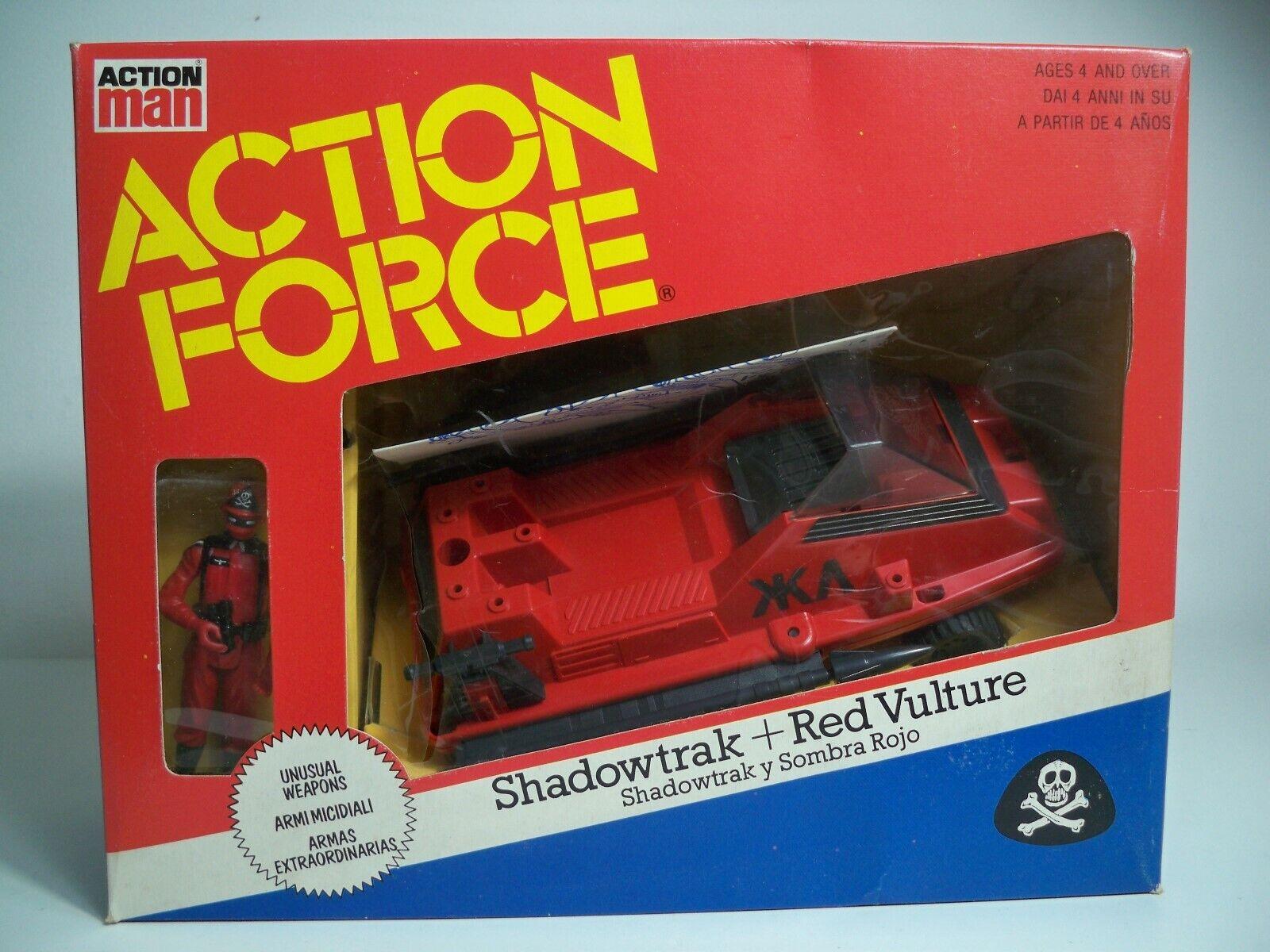 K1994151 SHADOW TRAK röd VUXURE W BOX KOMPLETTERANDE ÅTGÄRDER FRÅN UK FORCE MAN GI JOE