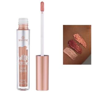 stable quality cheapest price cost charm Dettagli su essence make up melted chrome rossetto lipstick labbra liquido  02 rosie goldie