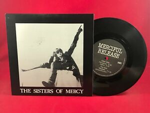 THE-SISTERS-OF-MERCY-Floorshow-EP-4-track-7-034-Vinyl-Single-EXCELLENT-CONDITION
