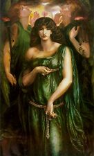 Syrian Astarte by Dante Rossetti Canvas or Fine Art Giclee Print Poster NEW