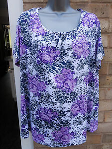 BEING-CASUAL-ladies-womens-purple-floral-formal-occasion-party-summer-top-16