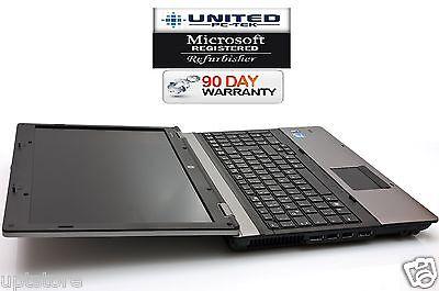 "HP ProBook 6550b 15.6"" (Windows 7 Pro 160GB Intel Core i5, 2.4GHz 4GB DVD/RW)"