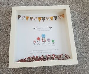 Image Is Loading Gift For Dad Grandad Superhero Framed Picture Perfect