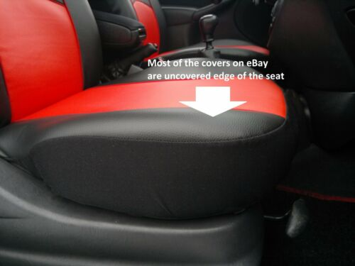Asiento delantero cubre Chaleco Camiseta Eco cueros Opel Astra Corsa Vectra Antara