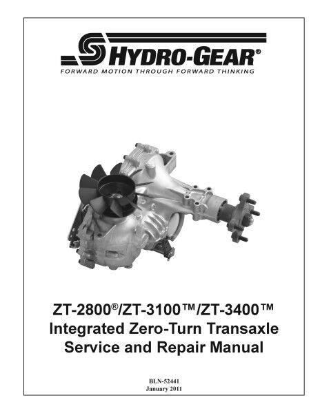 Transaxle ZJ-Kapp - 3KDC-1XXX ZT-3100 bomba de transmisión de OEM para Hydro Gear