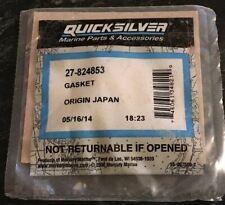New Mercury Mercruiser Quicksilver Oem Part # 27-824853 Gasket