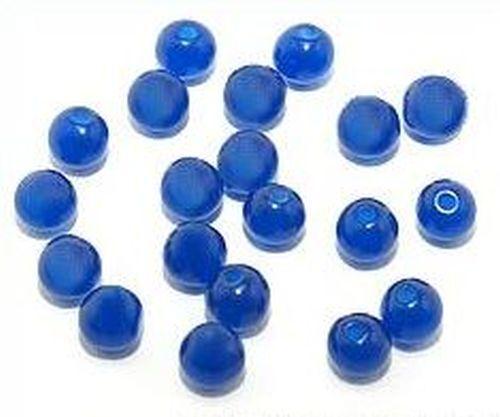 6mm #03 azul oscuro 20 Polar-perlas aprox