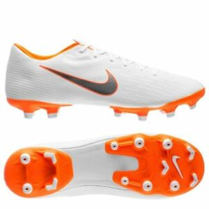 Nike Mercurial Vapor XII MG 2018 Soccer Shoes Academy New White ... 55cad2d29d