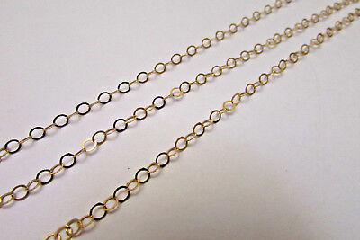 eac014032de Wholesale Quality 14K Gold Fill Flat Cable Chain 3x2mm All Jewelry ...