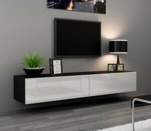 Image Is Loading Seattle 24 Modern Tv Wall Unit Tall
