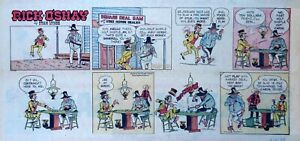 Rick-O-039-Shay-by-Stan-Lynde-full-color-Sunday-comic-page-April-4-1965