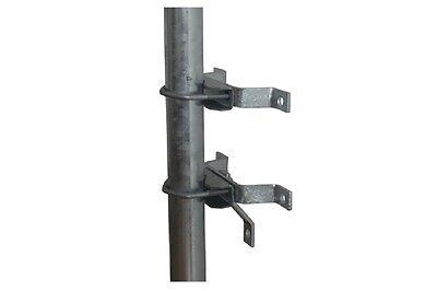 Sat Wand Abstandshalter Mauerhalter Masthalter 38 - 60 mm Ø verzinkt 5 cm