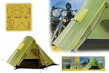 ADAC 2-Personen Leichtzelt 240x150x105 cm Campingzelt WS 10.000 mm Camping Zelt