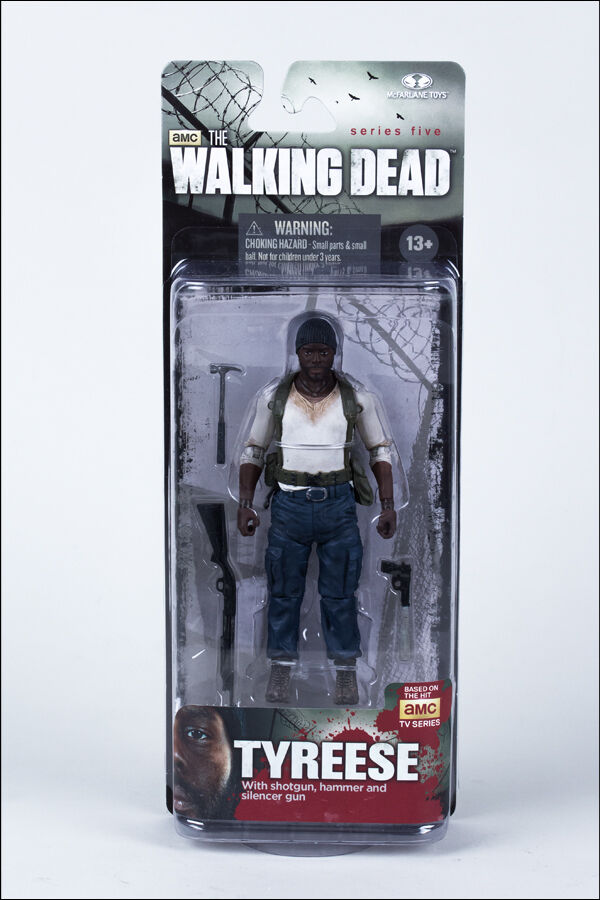 TYREESE THE WALKING DEAD TV SERIES 5 5 5 5  ACTION FIGURE MCFARLANE TOYS 15c17f